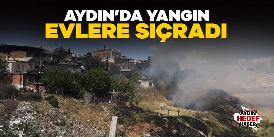 Yeniköy Mahallesinde yangın
