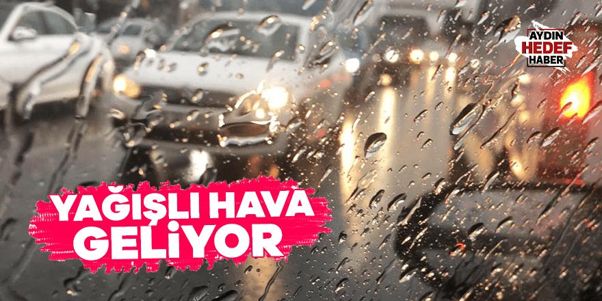 Aydın için yağışlı uyarısı