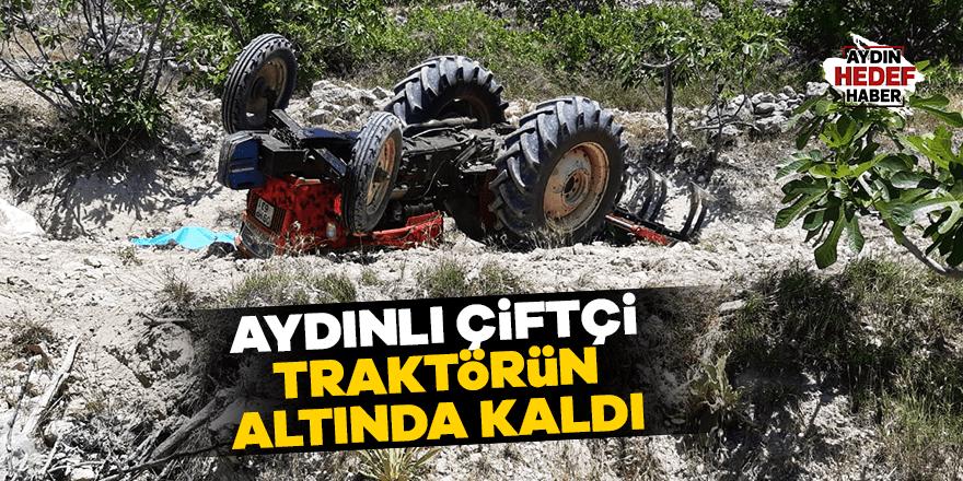 Bozdoğanlı çiftçi feci kazada can verdi