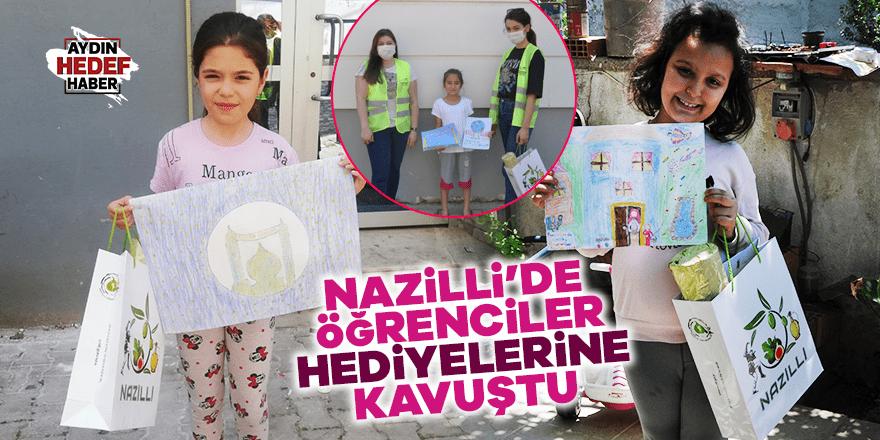 Nazilli'de 100 öğrenci hediyelerini aldılar