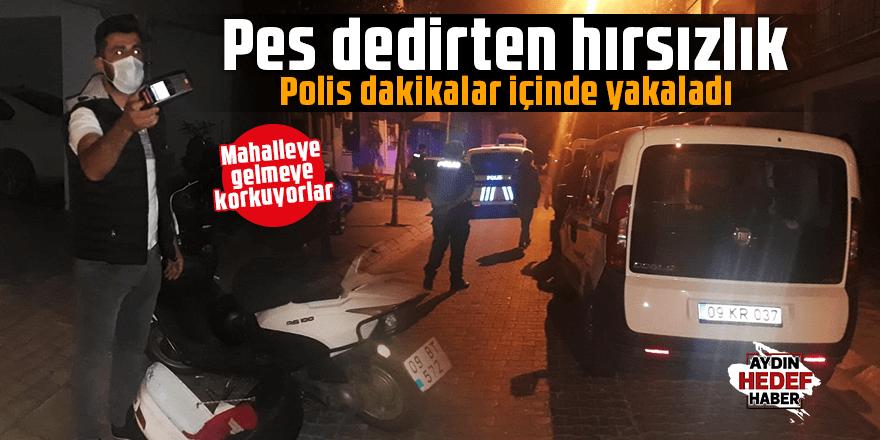 Aydın'da yaşanan hırsızlık pes dedirtti