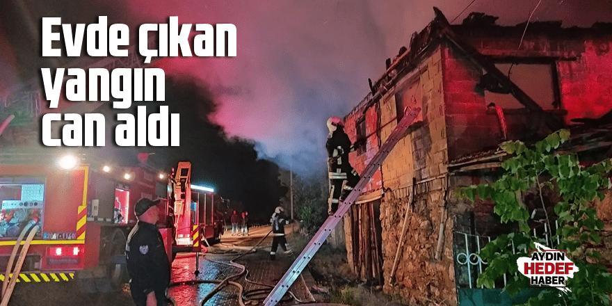 Denizli'de yangın can aldı