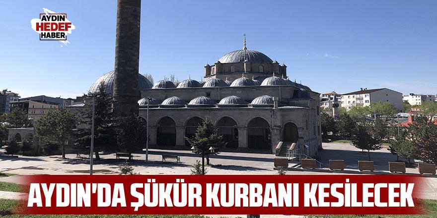 Aydın'da şükür kurbanı kesilecek