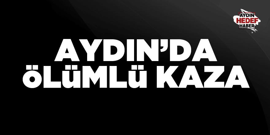 Aydın'da ölümlü kaza: 1 ölü 2 yaralı