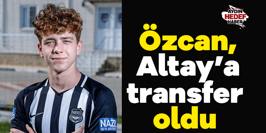 Özcan, Altay'a transfer oldu