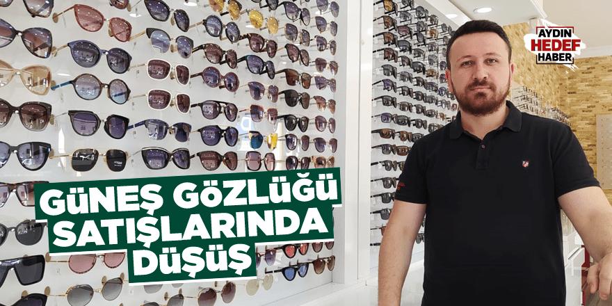 Güneş gözlüğü satışlarında düşüş