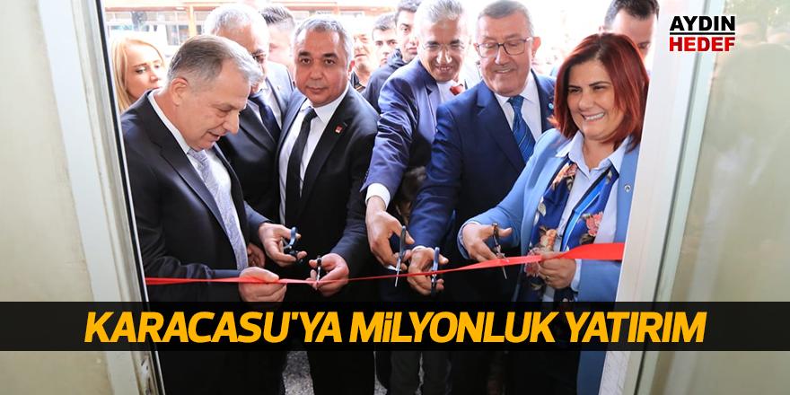 Karacasu'ya milyonluk yatırım