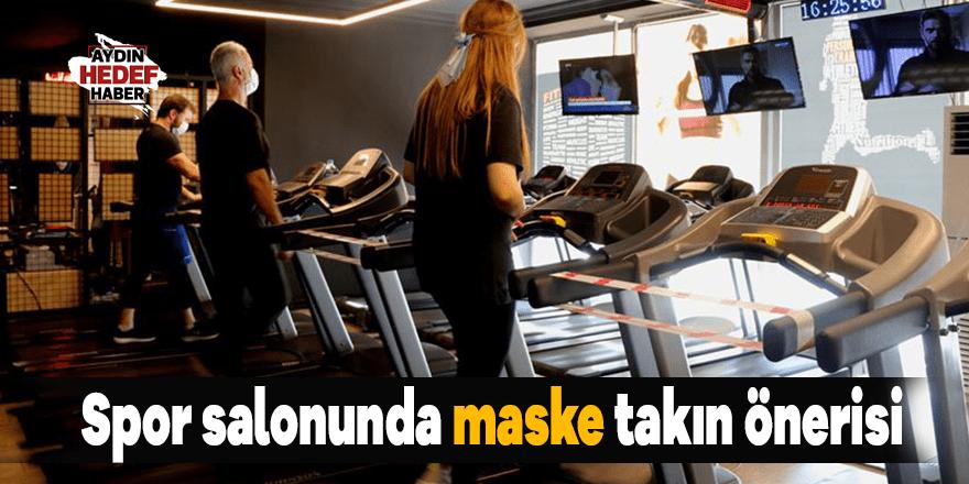 Spor salonunda maske takın önerisi