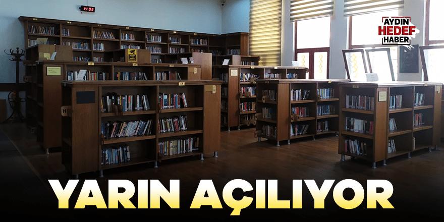 Kütüphaneler açılıyor