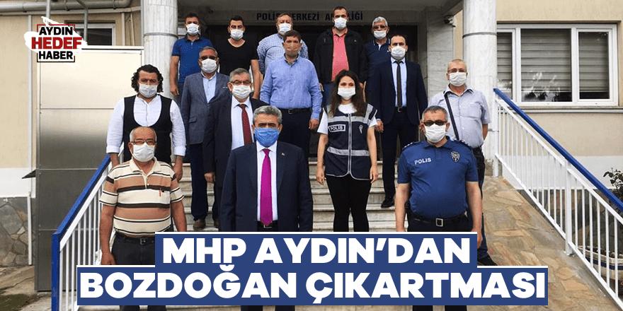 MHP Aydın'dan Bozdoğan çıkartması