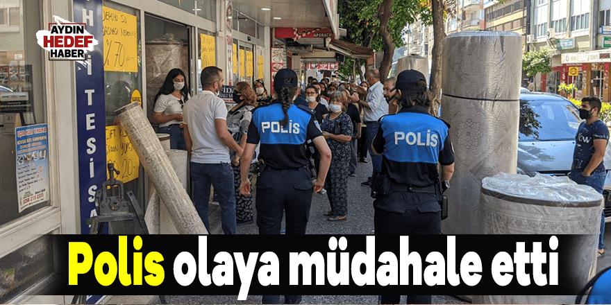 Polisten sosyal mesafe uyarısı