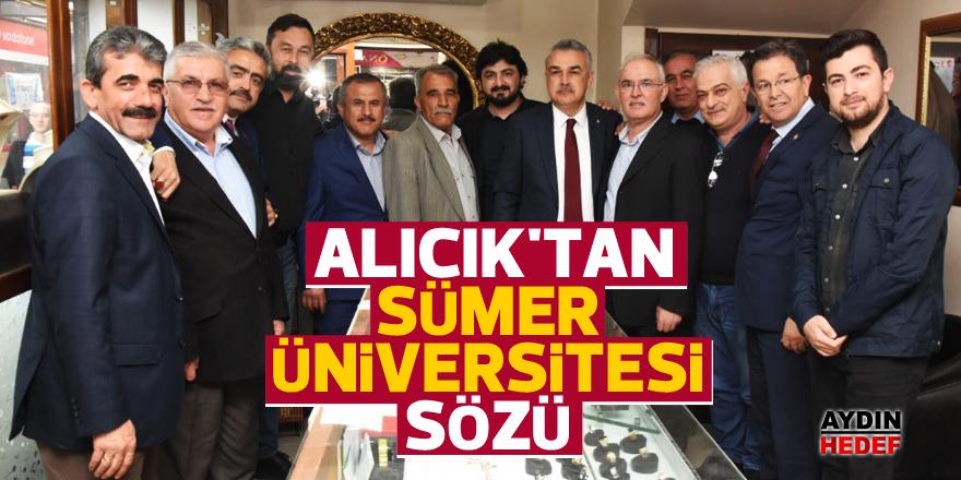 Alıcık'tan Sümer Üniversitesi sözü