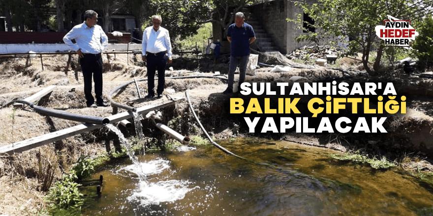 Sultanhisar'a balık çiftliği yapılacak