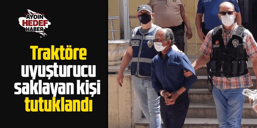 Traktör koltuğuna metamfetamin saklayan kişi tutuklandı