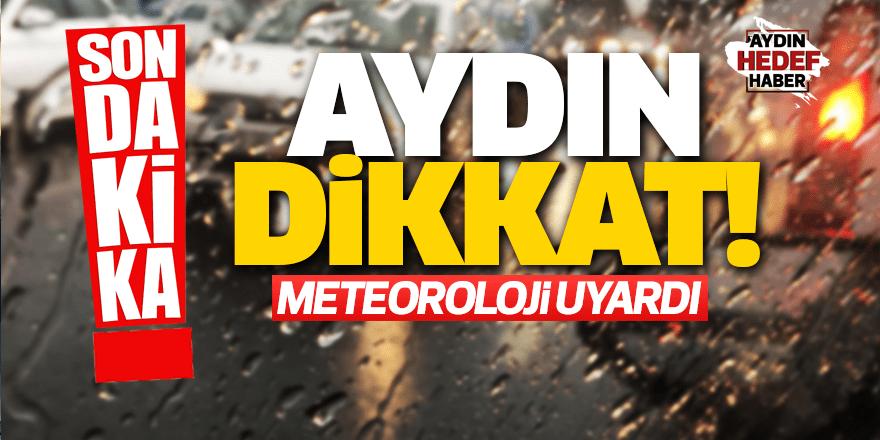 Aydın'da yağışlı hava