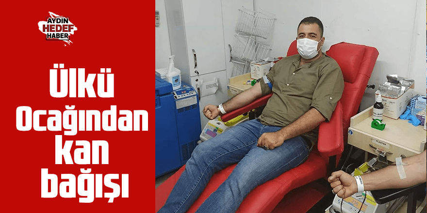 Ülkü Ocağından kan bağışı