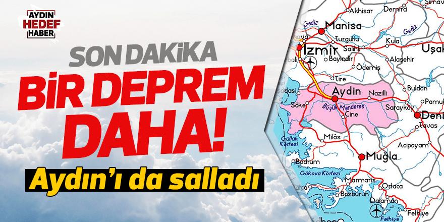 İkinci büyük deprem Aydın'ı da salladı