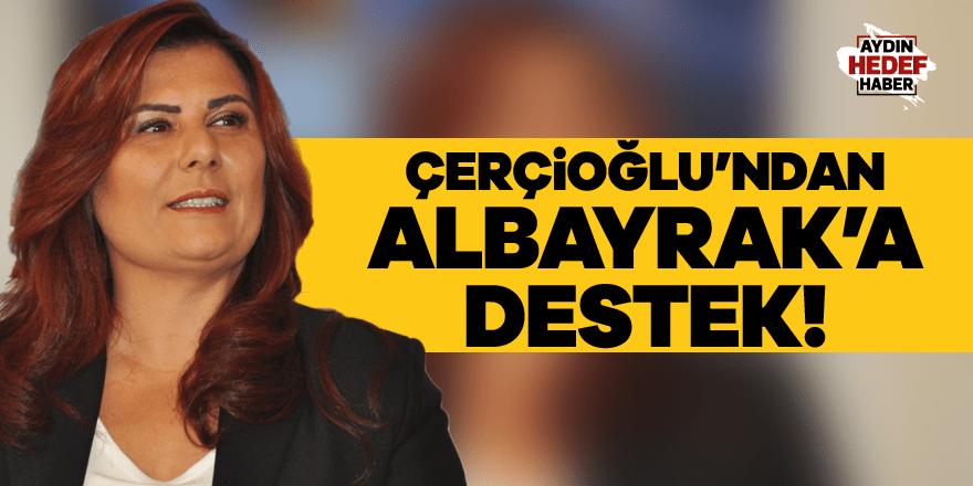 Çerçioğlu'ndan Albayrak'a destek