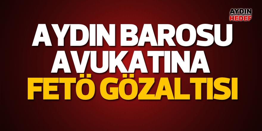 Aydın Barosu avukatına gözaltı