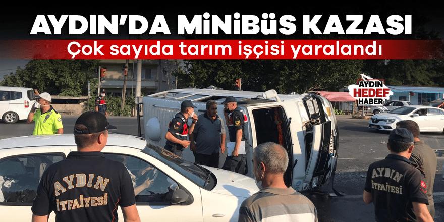 Aydın'da kaza: Çok sayıda yaralı