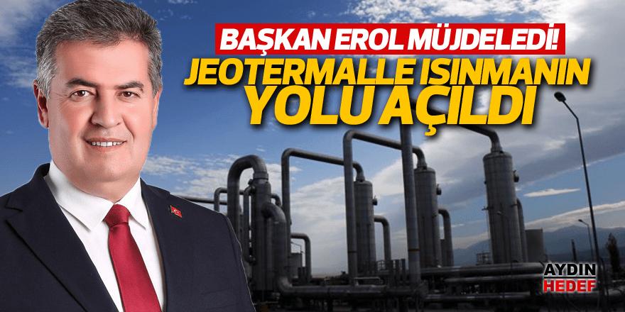 Buharkent'te jeotermalle ısınmanın yolu açıldı