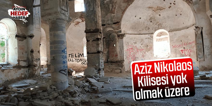 Aziz Nikolaos Kilisesi yok olmak üzere