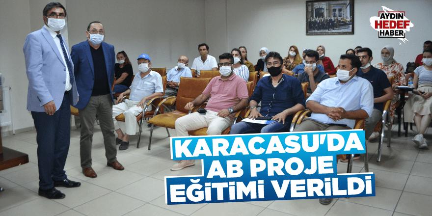 Karacasu'da AB Proje eğitimi verildi