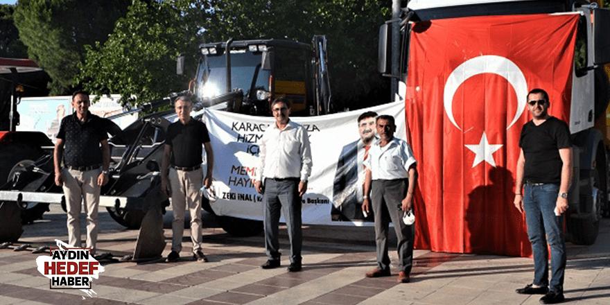 Karacasu Belediyesi 10 yıllık hayaline kavuştu