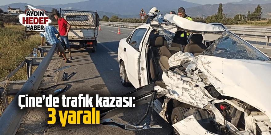 Çine'de trafik kazası: 3 yaralı