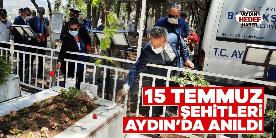 15 Temmuz şehitleri Aydın'da anıldı