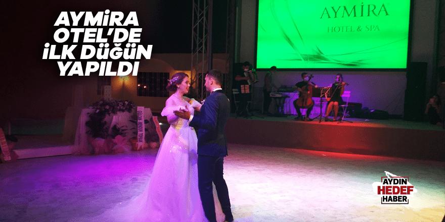 Aymira Otel'de ilk düğün yapıldı