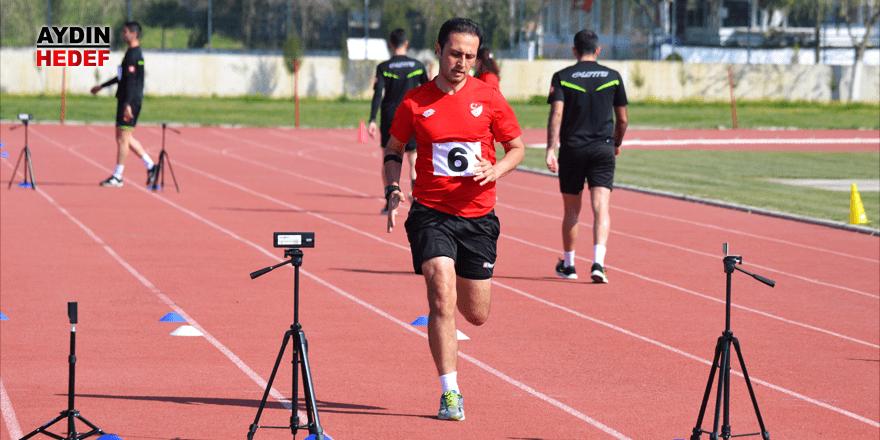 Aydın'da atletik test düzenlendi