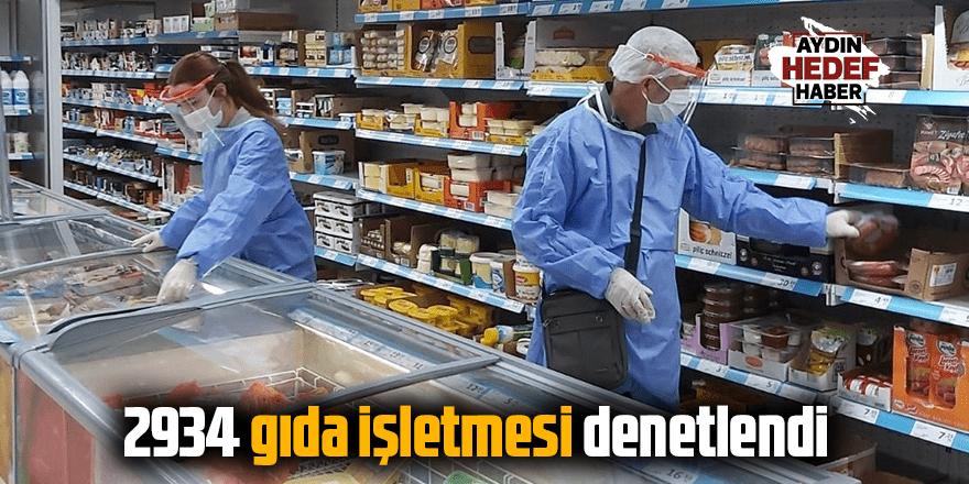 Aydın'da Haziran ayında 2934 gıda işletmesi denetlendi
