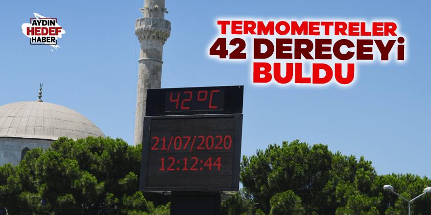 Termometreler 42 dereceyi buldu