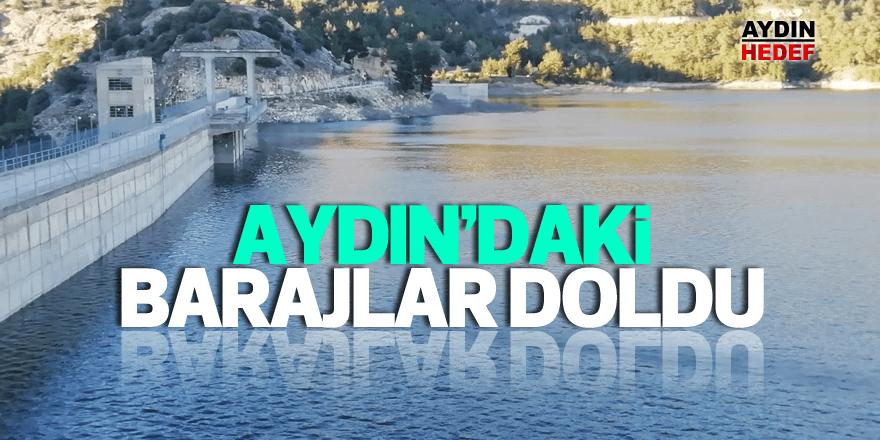 Aydın'daki barajlar doldu