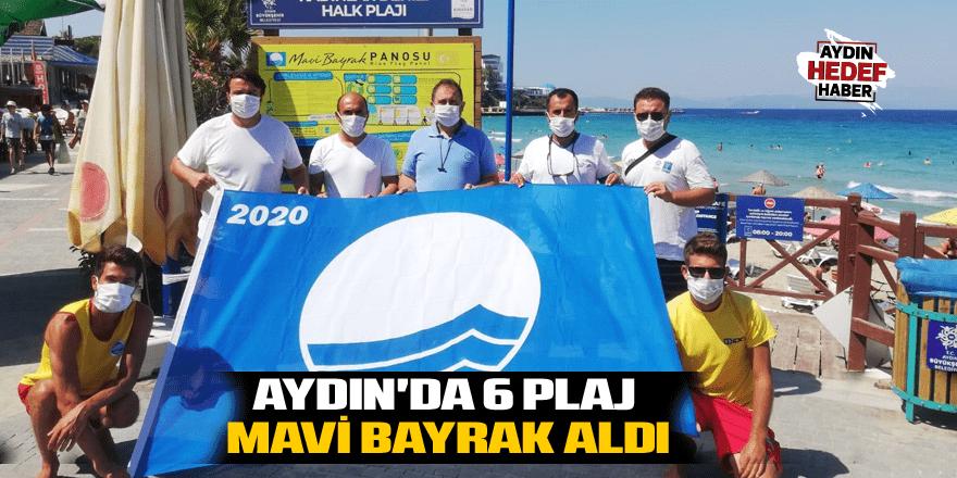 Aydın'da 6 plaj mavi bayrak aldı