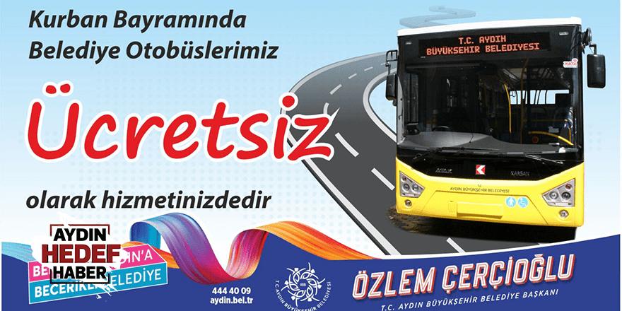 Sarı otobüsler bayramda ücretsiz