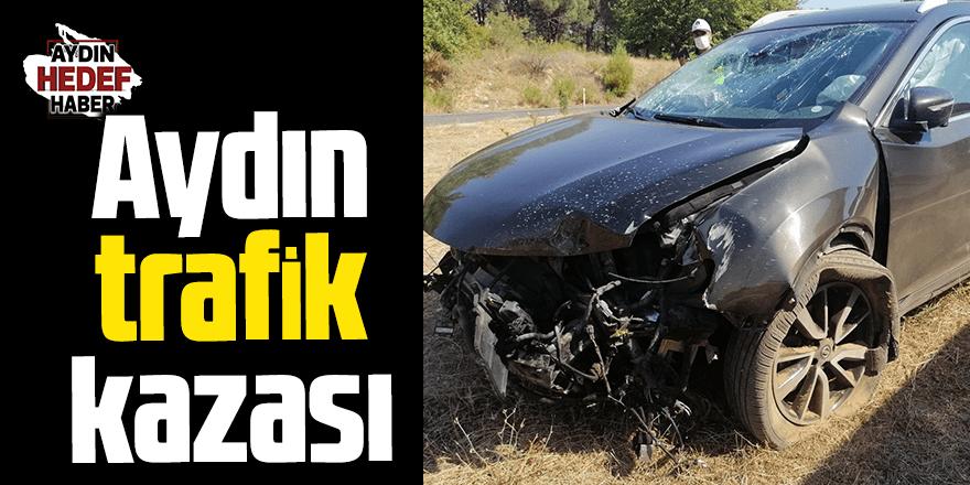 Aydın'daki trafik kazasında 3 kişi yaralandı