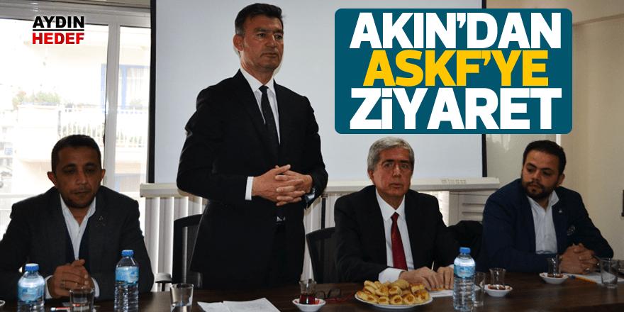 Akın'dan ASKF'ye ziyaret