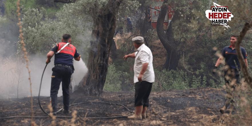Büyükşehir Belediyesi İmamköy'deki Yangına Tüm Birimleriyle Müdahale Ediyor
