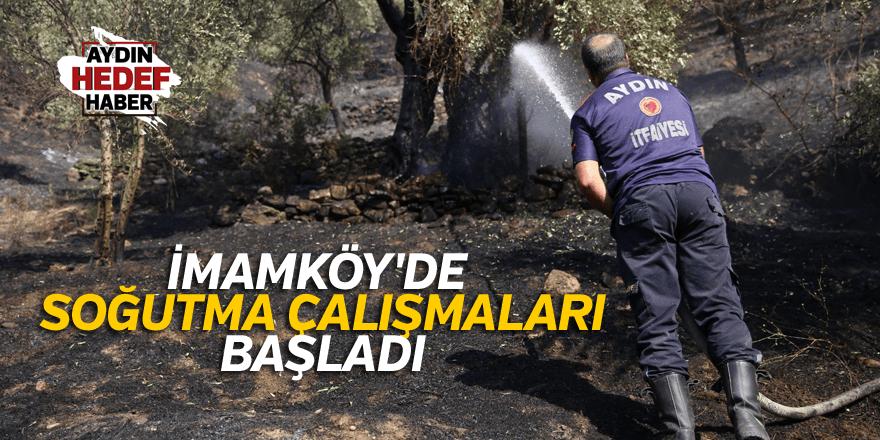 İmamköy'de soğutma çalışmaları başladı