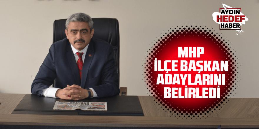 MHP ilçe başkan adaylarını belirledi