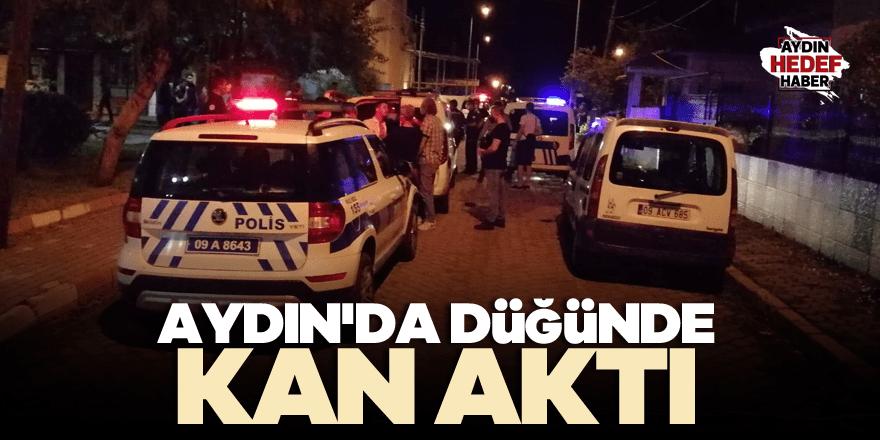 Aydın'da düğünde kavga: 3 yaralı