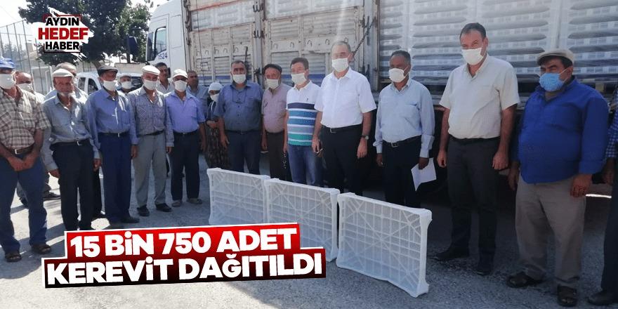Aydın'da 15 bin 750 adet kerevit dağıtıldı