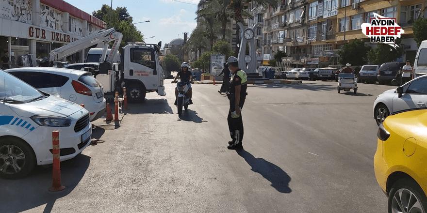 Nazilli'de motosiklet denetimleri arttırıldı