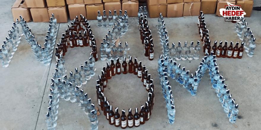 Nazilli'de sahte içki operasyonu