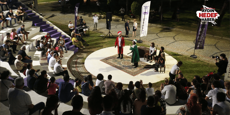 Pınarbaşı Mesire alanında tiyatro heyecanı