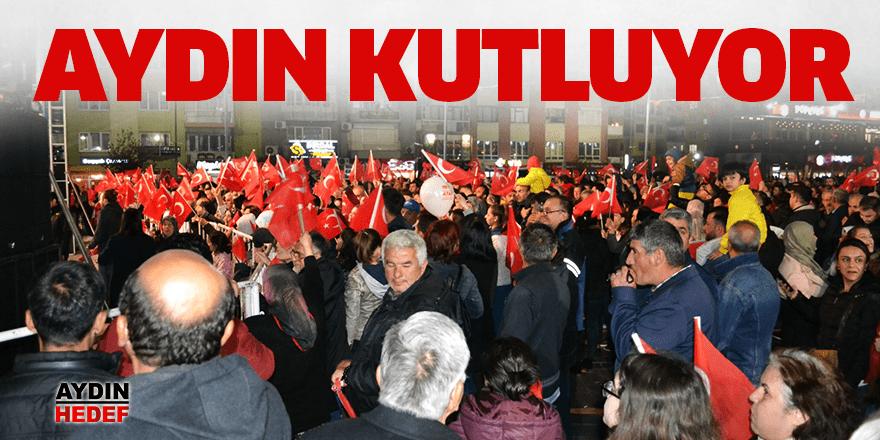 Aydın'da kutlamalar başladı