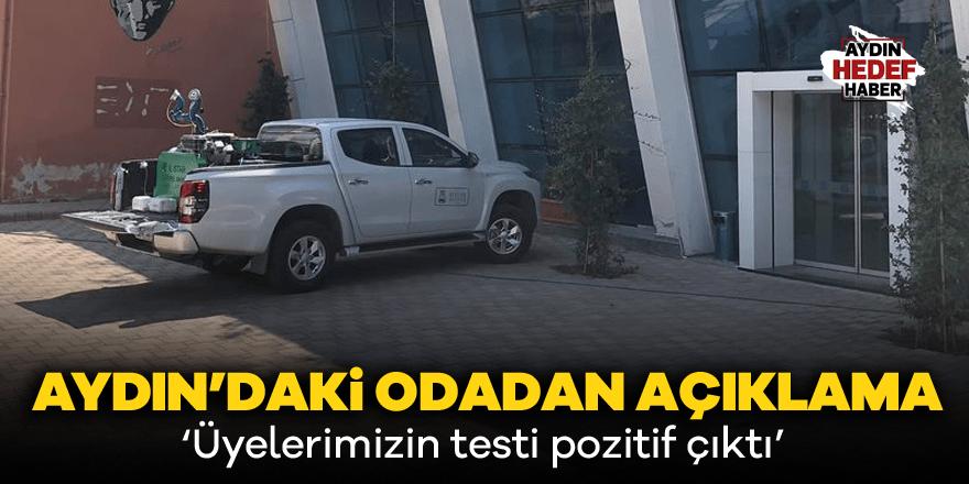 Aydın'da İnşaat Mühendisleri Odası'nda korona alarmı