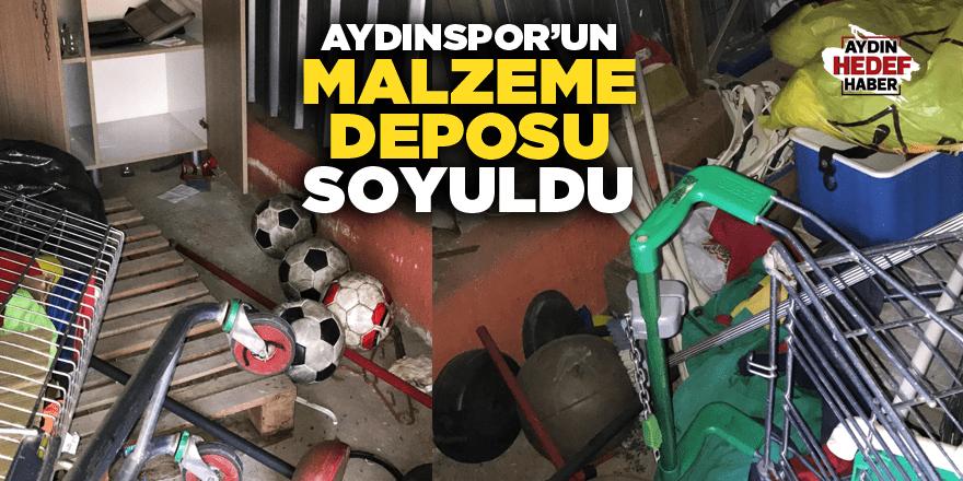 Aydınspor'un malzeme deposu soyuldu